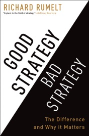 book cover: Good-StrategyBad-Strategy