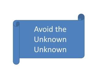Unknown Unknown