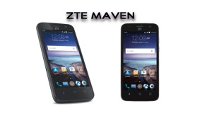 ZTE Maven smartphone from AT&T