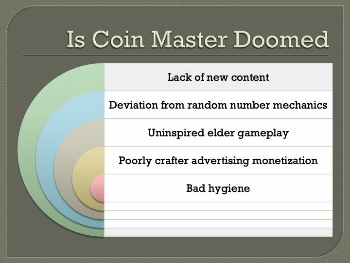 Why Coin Master May  Not Become a Franchise