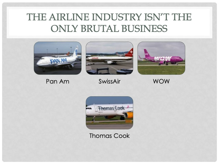 Why iGaming is not doomed, but doomed to be like the airlineindustry