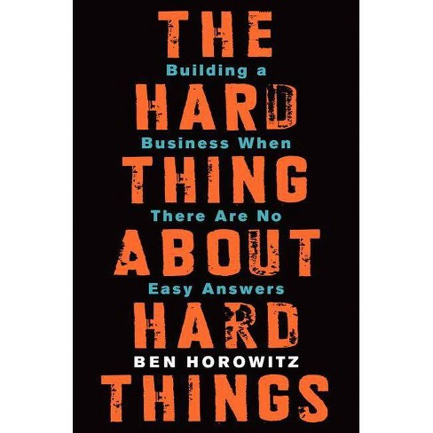 hard thing hard things